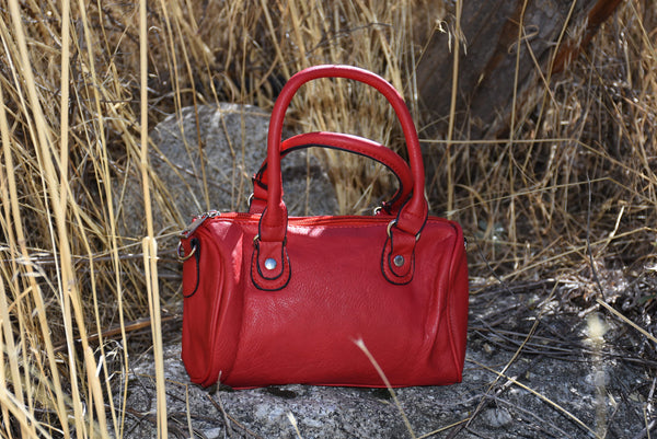 Cute Tiny Red Satchel