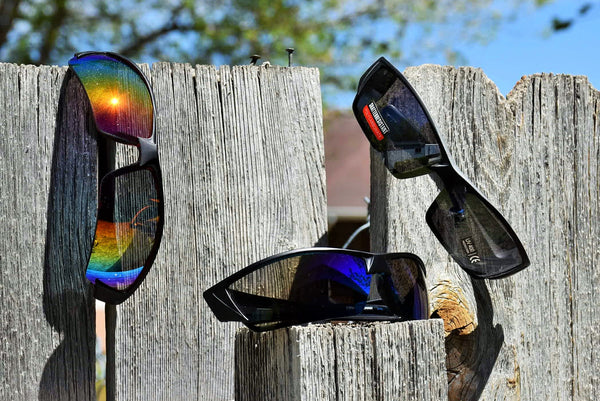 Flashy Mirrored Sunglasses