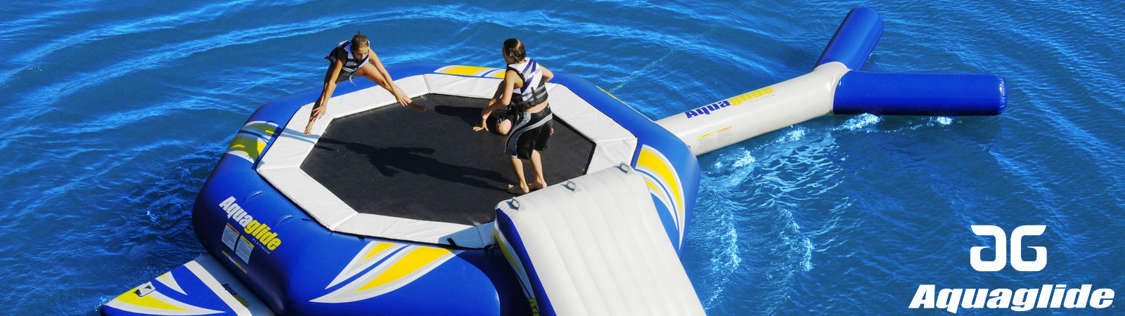 Aquaglide Inflatable Water Trampoline available at Sportique.com