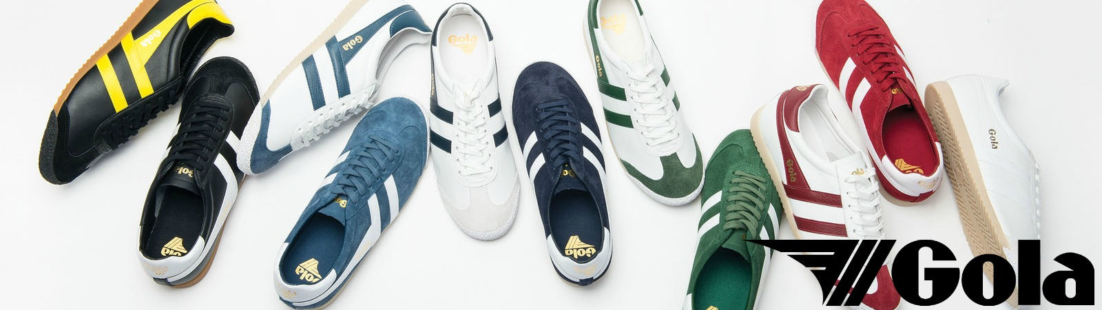 Footwear from Gola Classics's Made in England Collection, available at Sportique.com