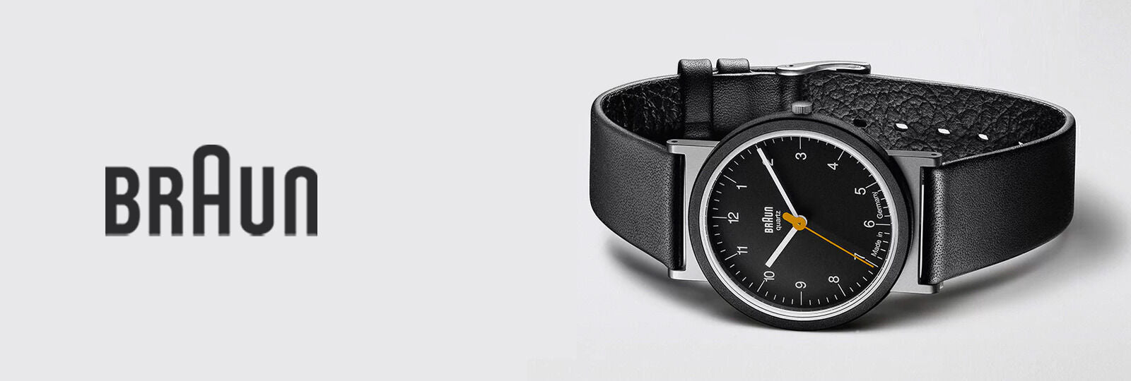 Braun watches available at Sportique