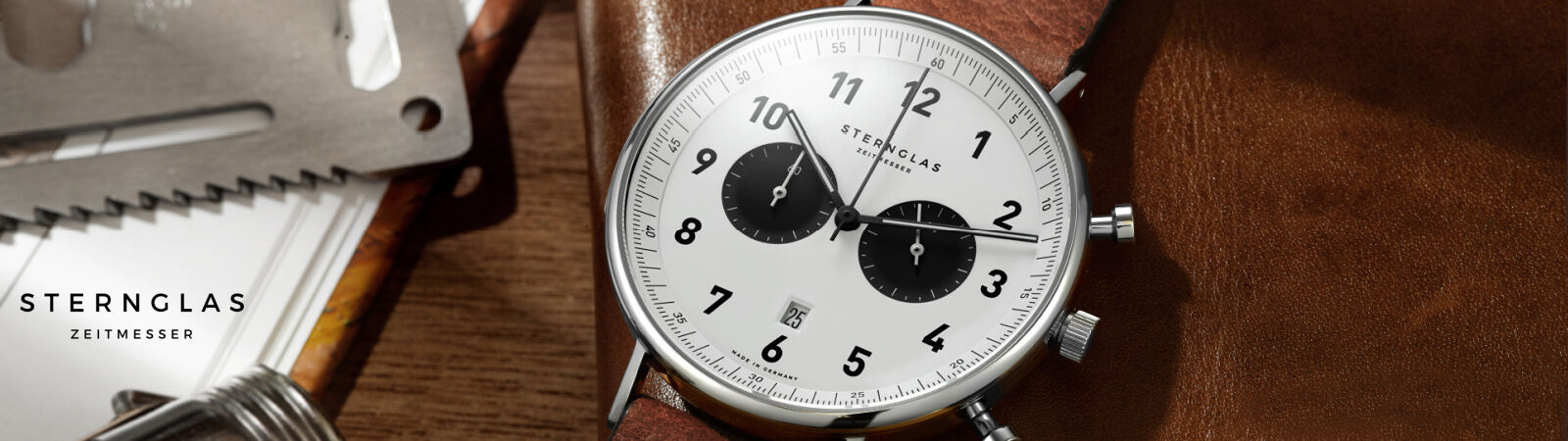 Sternglas Chronographs - Available at Sportique.com