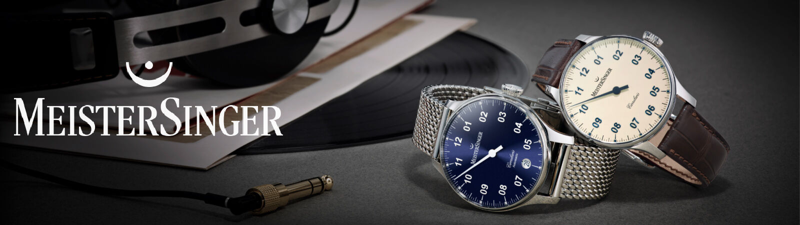 MeisterSinger Mechanical Wristwatches Available at Sportique.com