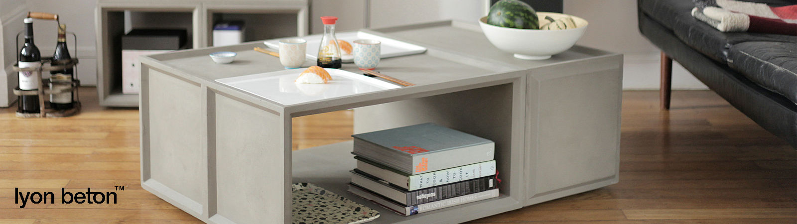 Lyon Beton furniture and accessories available online at Sportique.