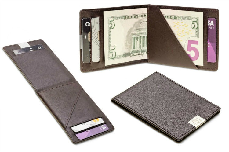 Dun Wallets Original Leather Bi-Fold Wallet