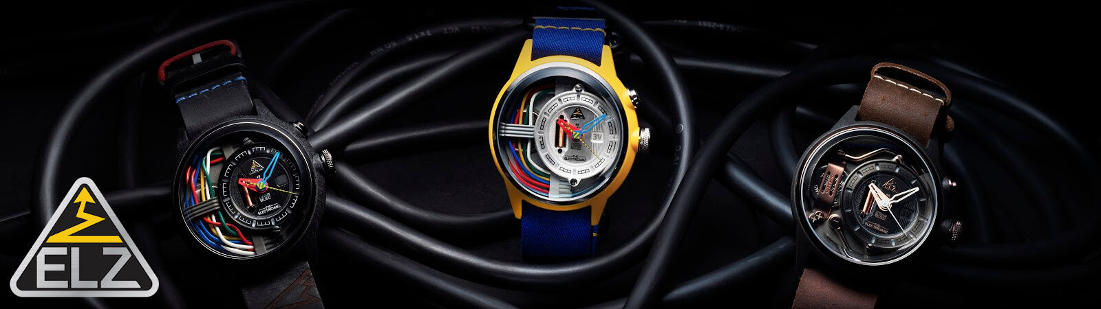 The Electricianz Electric Powered Watches