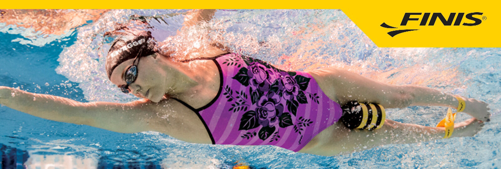 Finis available at Sportique