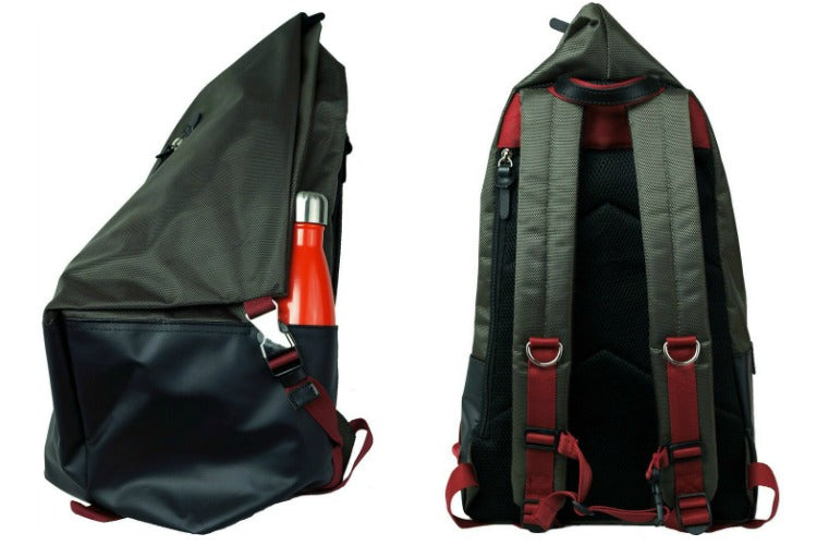 Harvest Label Ballistic Tourer Backpack in Moss