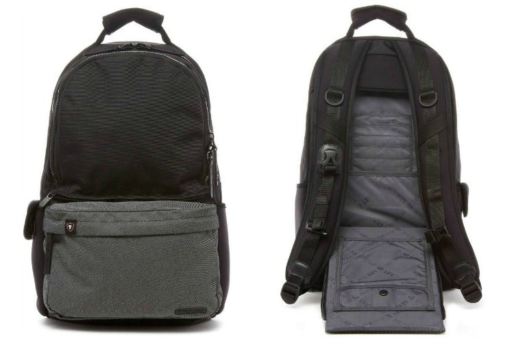 Lexdray Copenhagen Backpack in Black/Grey