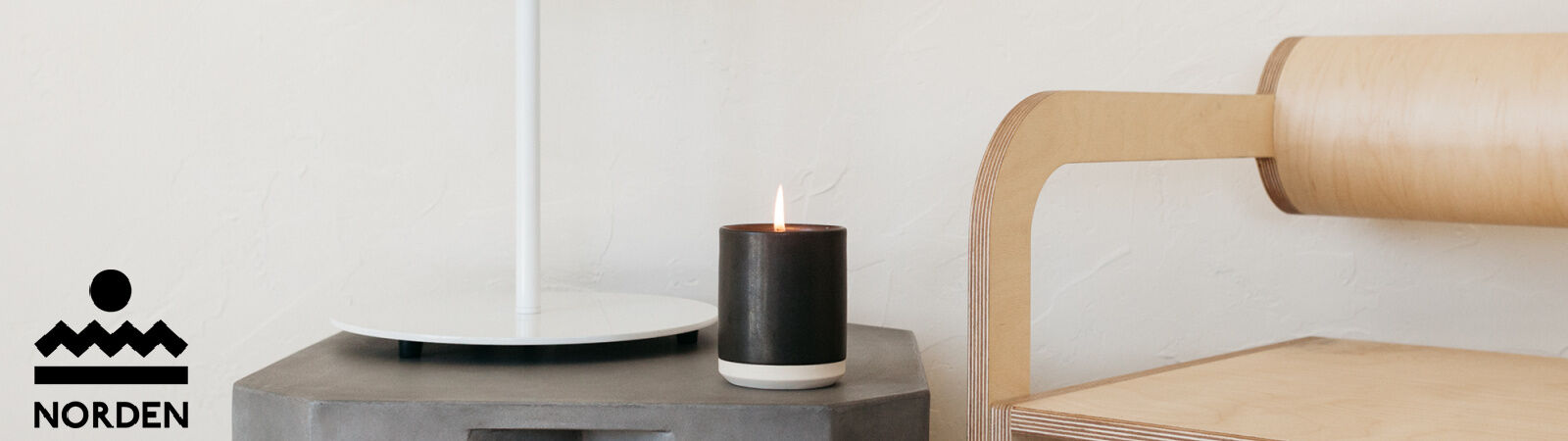 Norden Goods Ceramic Scented Candle