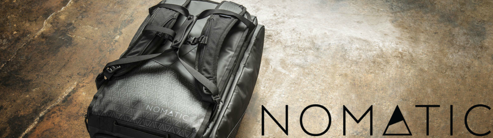 The Nomatic Travel Bag in Black available at Sportique.com.