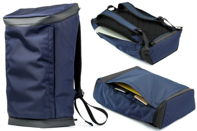 Opposethis Invisible Backpack Two in Navy