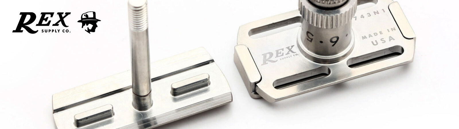 Rex Suppyl Co Razors Available at Sportique.com