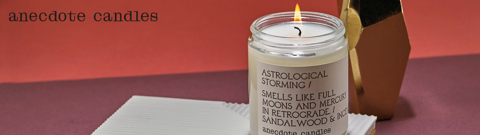 Anecdote Candles, made in the USA and available at Sportique.com