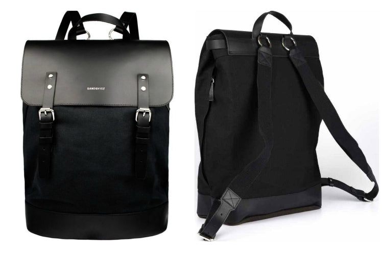 Sandqvist Hege Backpack in Black