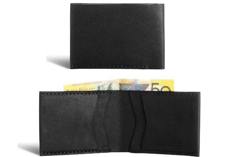 Tailfeather Finch Bifold Wallet in Black
