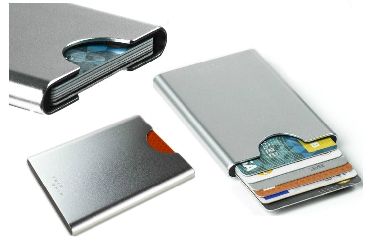 Thin King Credit Card Case in Silver