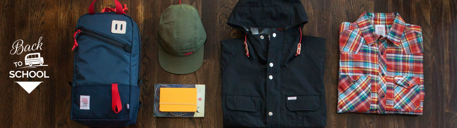 Topo Designs gear available at Sportique.com