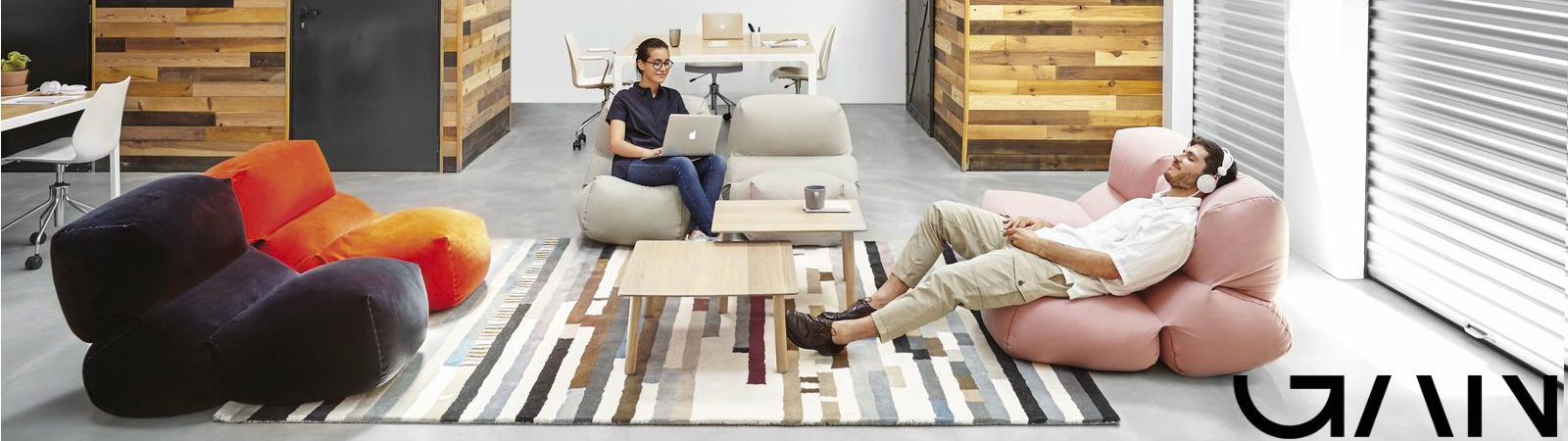 Gan Rugs available at Sportique.com