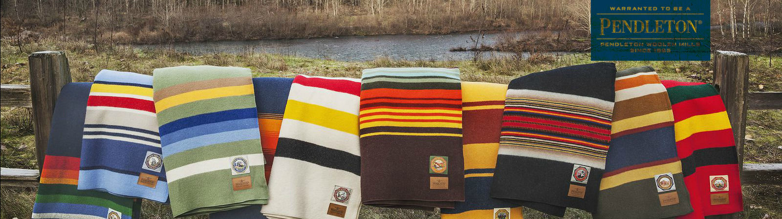 Pendleton blankets available for sale online at Sportique.
