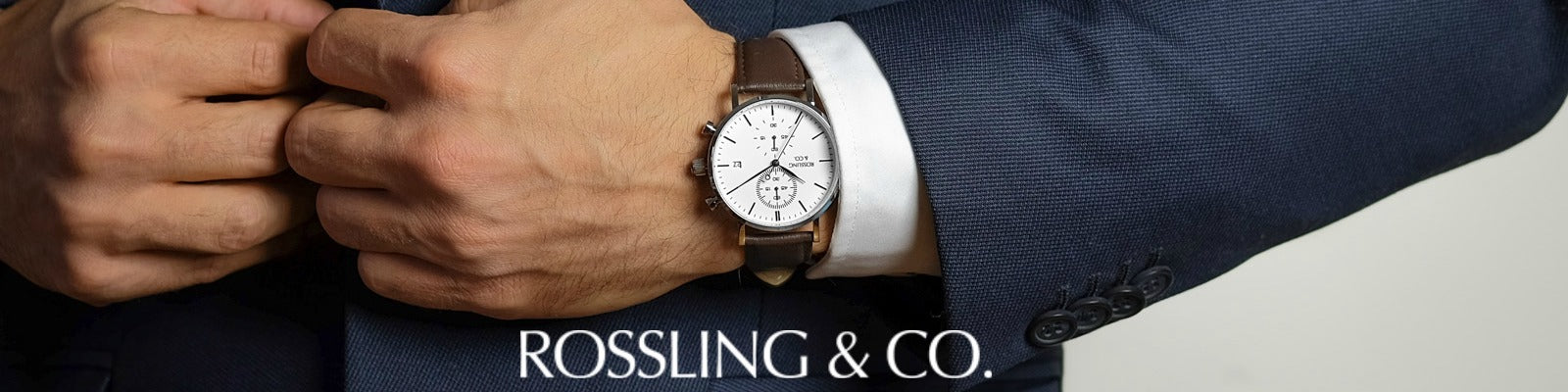 Rossling & Co. stylish watches available online at Sportique.
