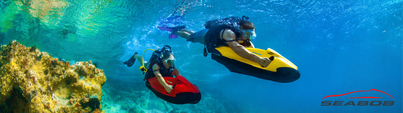 SEABOB Underwater Jet, Water Scooter, Water Sled