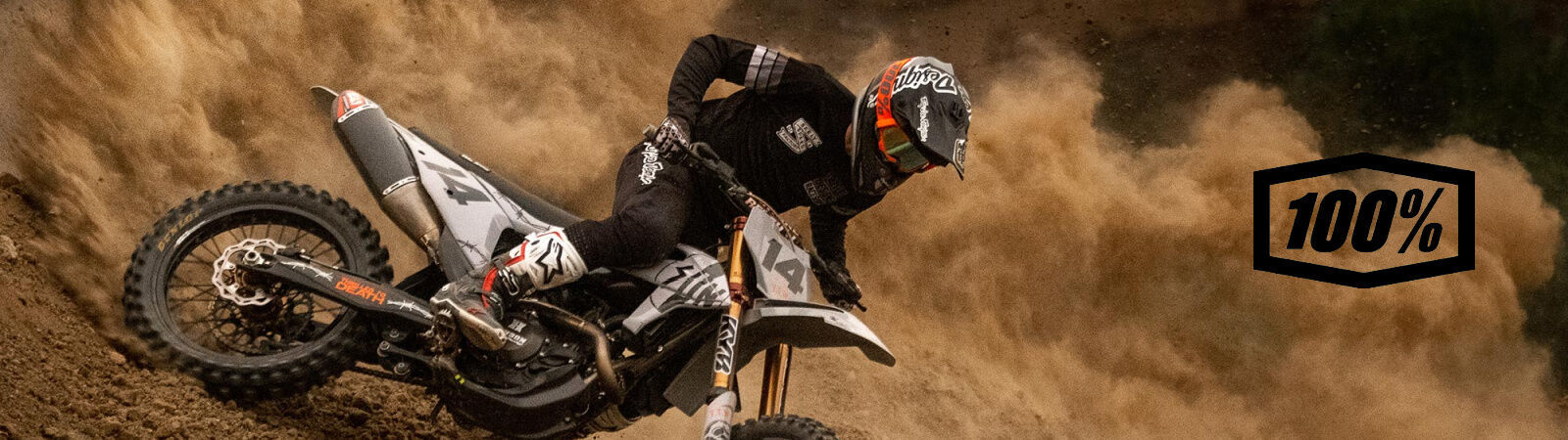 100% - Motocross, BMX, Downhill, and Cycling Accessories  - available at sportique.com