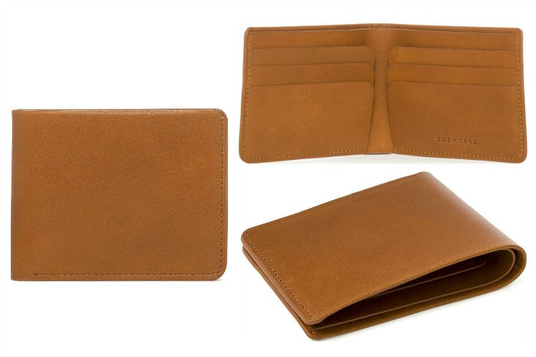The Horse Folder Bi-Fold Wallet in Tan