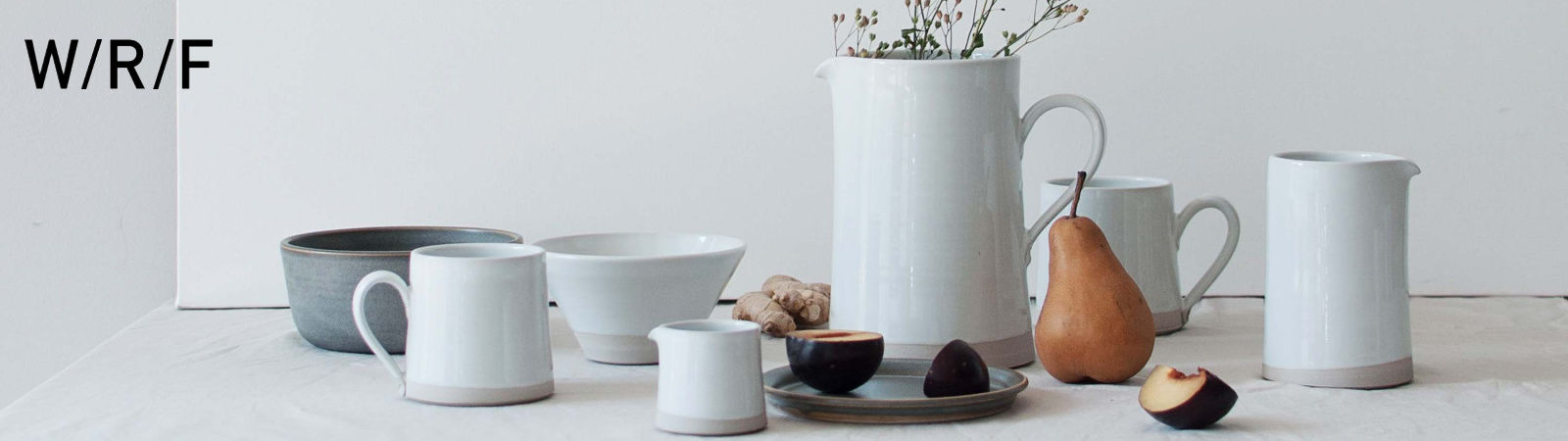 WRF Lab pottery and ceramics available online at Sportique.
