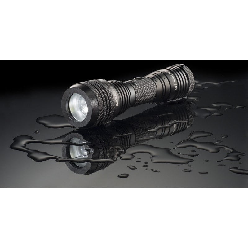 Liquid Image Model 347 60 Degree Ultrawide Side Torch Light | Black