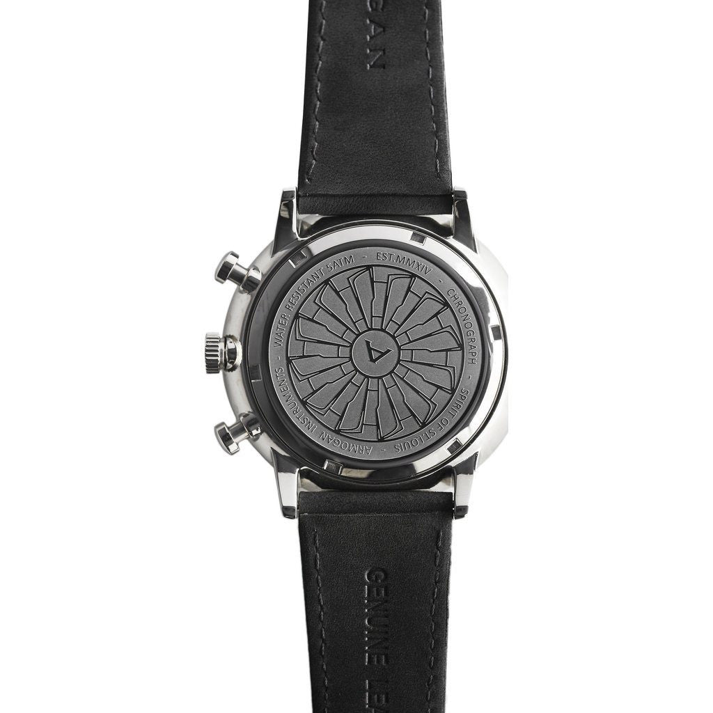 Armogan Spirit of St. Louis Chronograph Watch | Horizon Black FGSOSL09HB