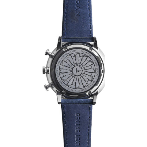 Armogan Spirit of St. Louis Chronograph Watch | Ocean Blue FGSOSL05OB