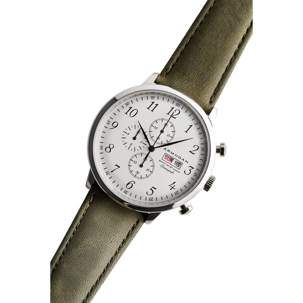 Armogan Spirit of St. Louis Chronograph Watch | Autumn Green FGSOSL04AG