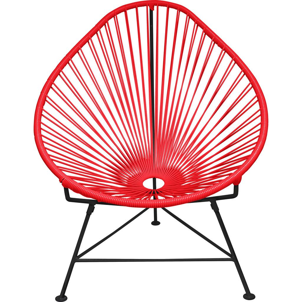 Innit Designs Acapulco Chair | Black/Red