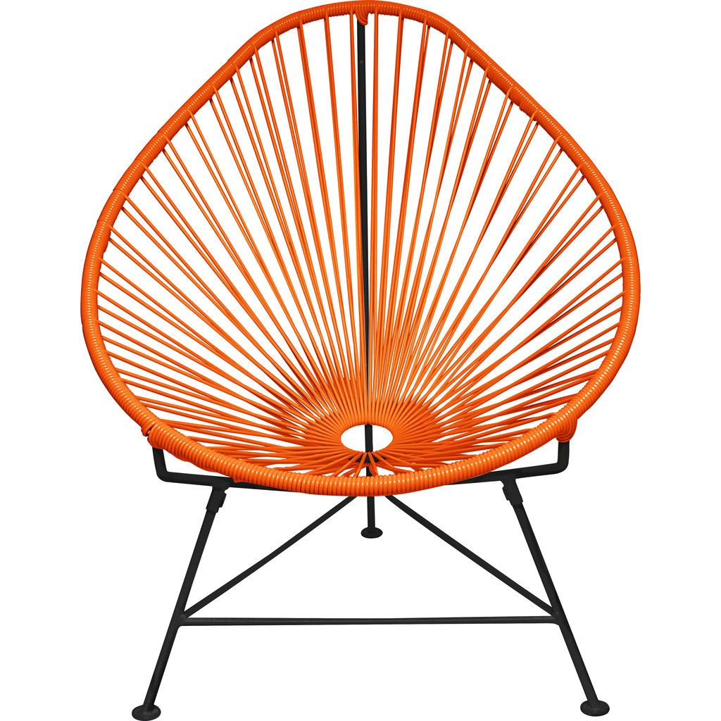 Innit Designs Acapulco Chair | Black/Orange