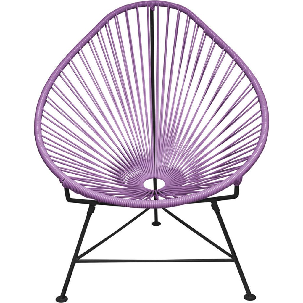 Innit Designs Acapulco Chair | Black/Orchid
