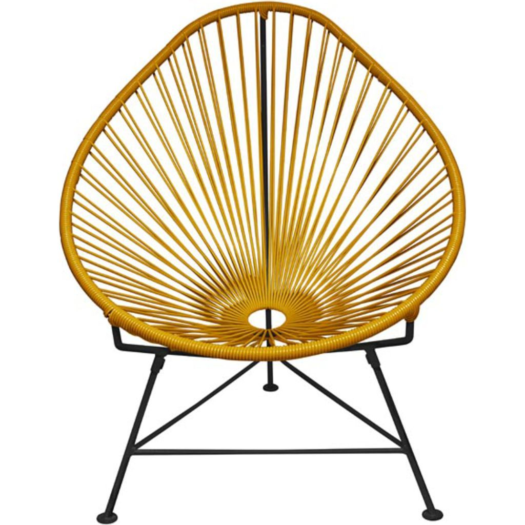 Innit Designs Acapulco Chair | Black/Caramel