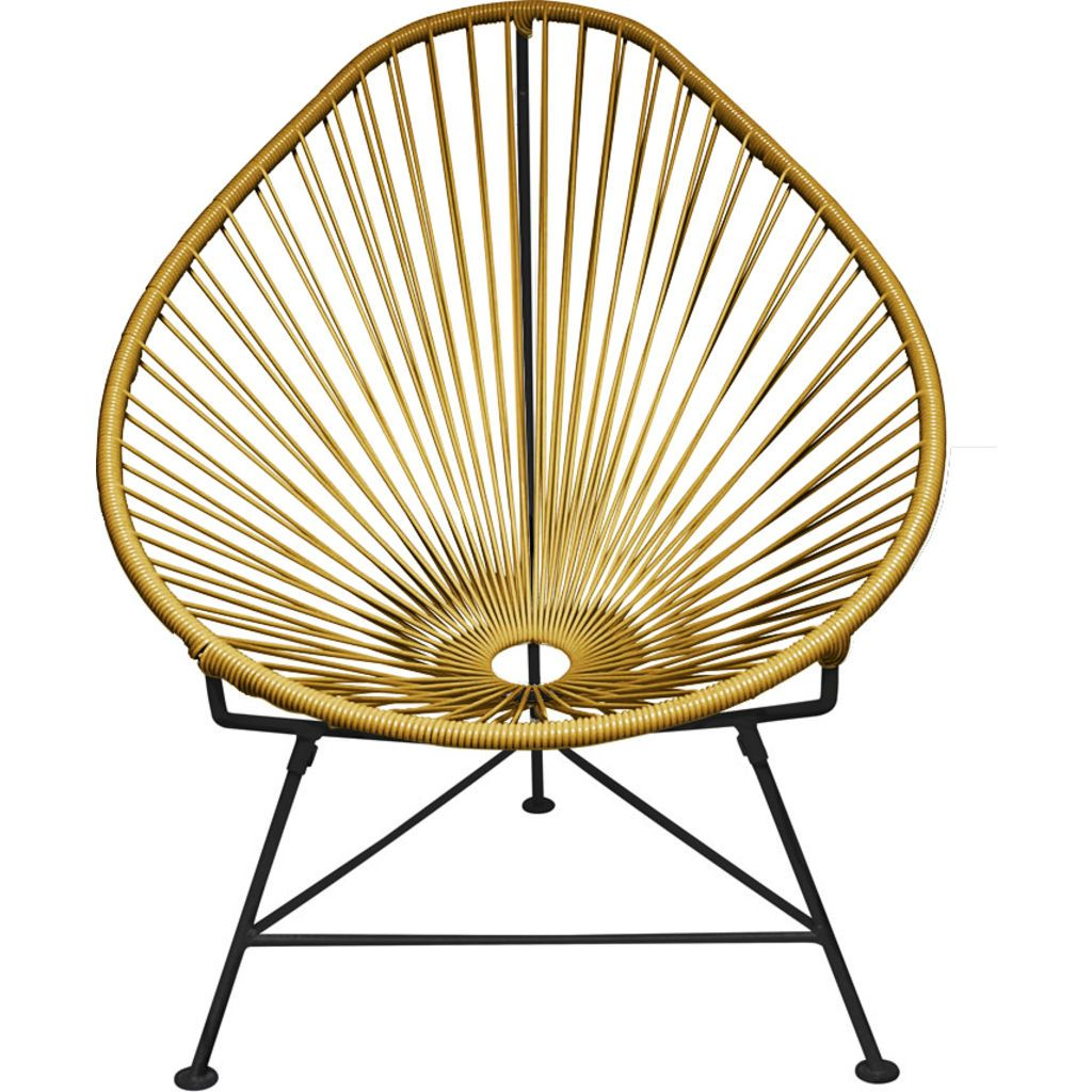 Innit Designs Acapulco Chair | Black/Gold
