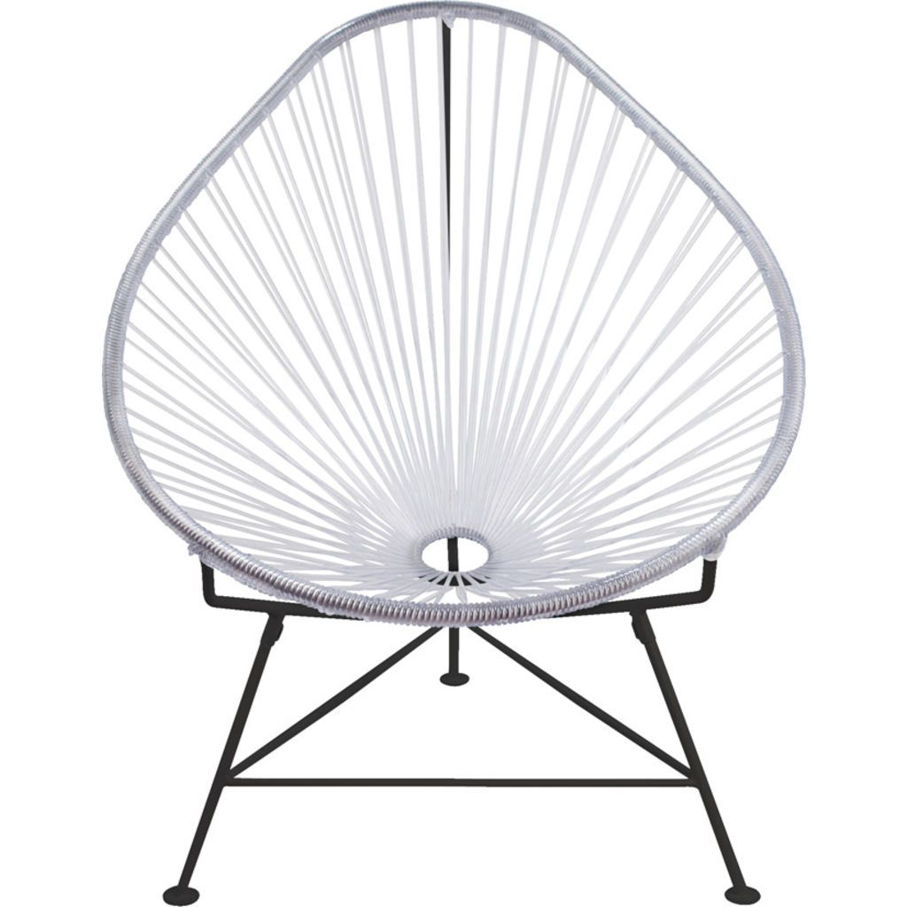 Innit Designs Acapulco Chair | Black/Clear