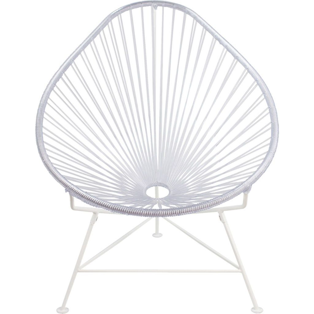 Innit Designs Acapulco Chair | White/Clear