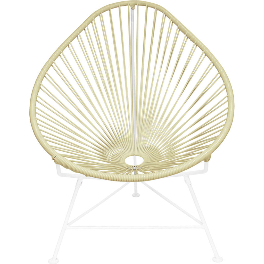 Innit Designs Acapulco Chair | White/Ivory