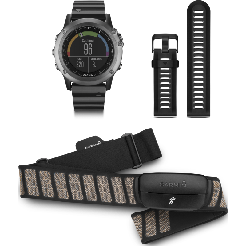 Garmin Fenix 3 Sapphire Multi-Sport GPS Watch | Performer Bundle