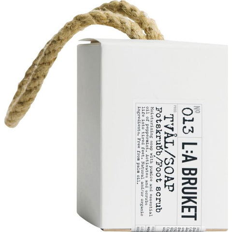 L:A Bruket No 013 Rope Soap Foot Scrub | Peppermint 240 g