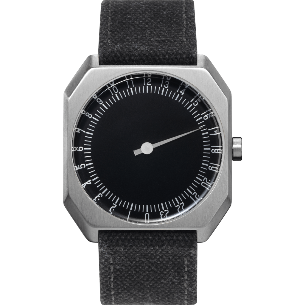 slow Jo 14 Black Watch | Anthracite Canvas
