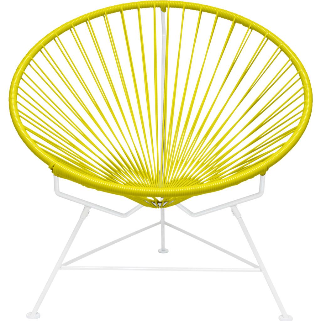Innit Designs Innit Chair | White/Yellow