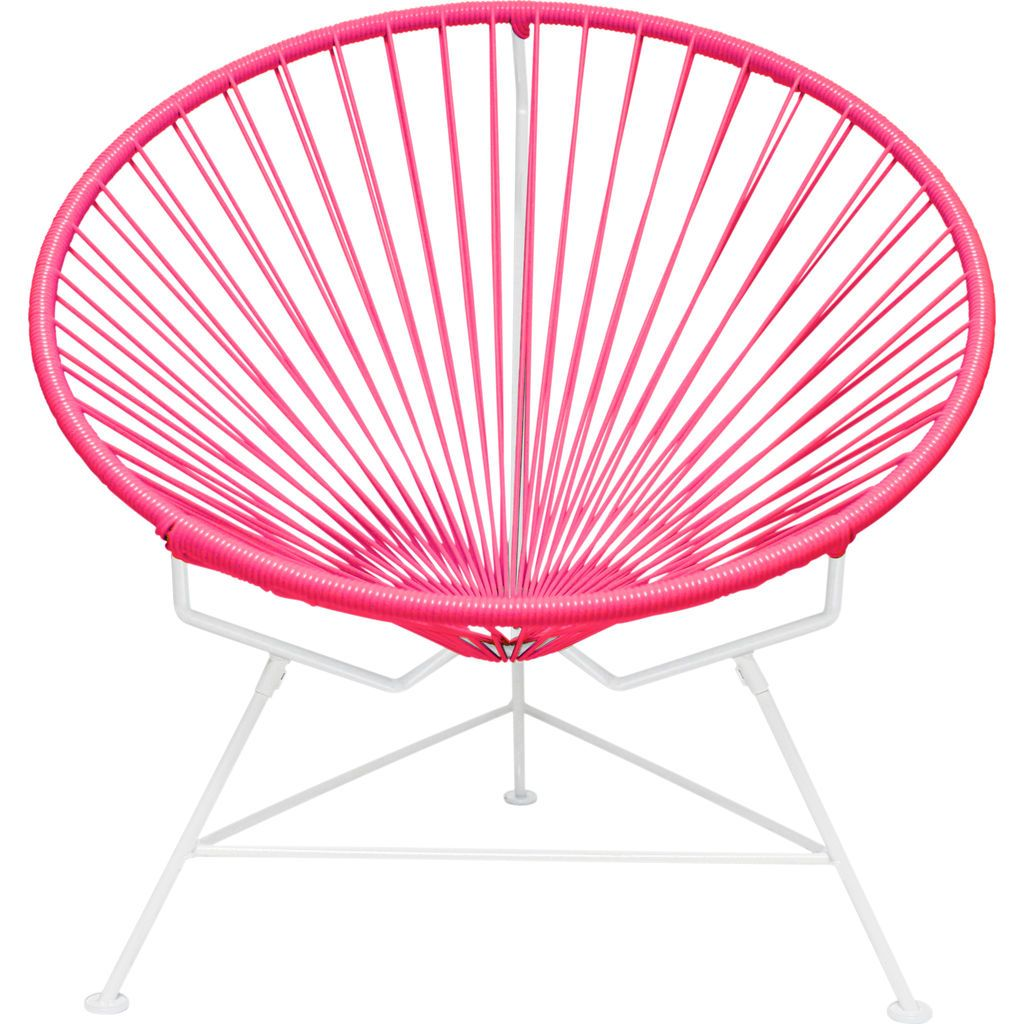 Innit Designs Innit Chair | White/Pink