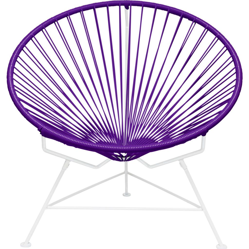 Innit Designs Innit Chair | White/Purple