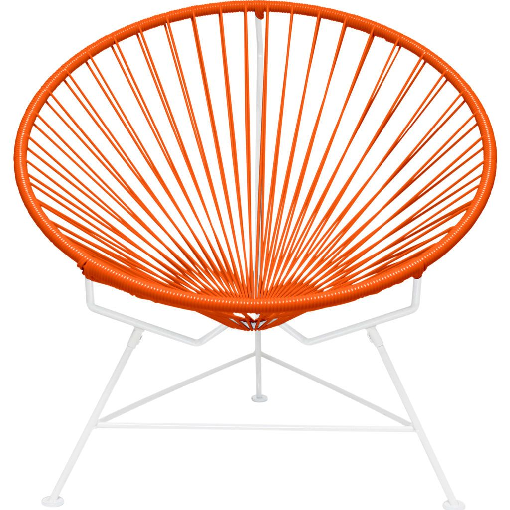 Innit Designs Innit Chair | White/Orange