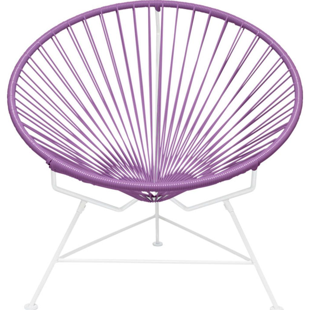 Innit Designs Innit Chair | White/Orchid