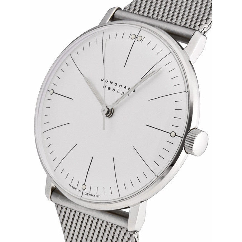 Junghans Max Bill Hand-Winding Watch | Milanaise 027/3004.44
